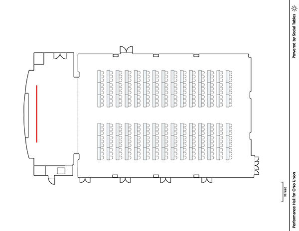 Performance Hall - Classroom Diagram