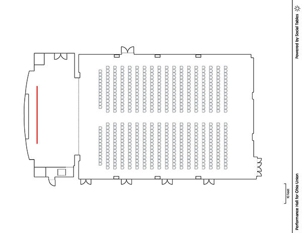 Performance Hall - Theater Diagram